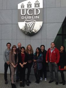 IFR students visited University College Dublin as part of the Student Knowledge Exchange